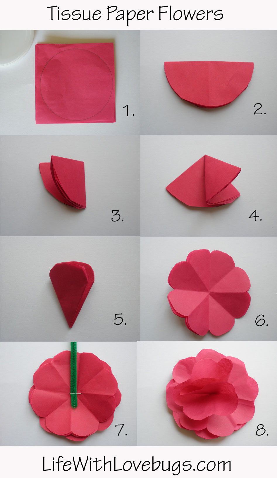 How To Make Mexican Flowers From Crepe Paper Flowers Healthy
