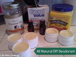 All Natural Diy Deodorant Life With Lovebugs